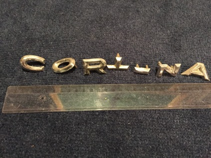 Cortina letters before.