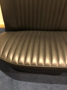 Aldridge built new patterns from my old rear seats that I sent them