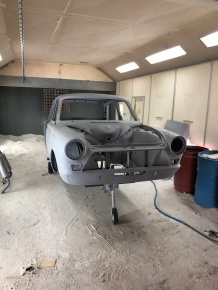 All the rust repairs have been completed