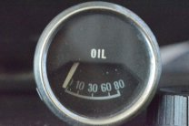 Oil Gauge Before